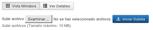 Upload file form